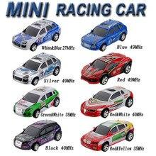 Mini Coke Can Speed RC Radio Remote Control Micro Race Racing Car Toy Fun Gift