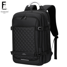 Купить с кэшбэком FRN Laptop Backpack 17 inch Men's Travel Bags 2019 Multifunction Rucksack Waterproof Oxford Black Computer Backpacks For Men