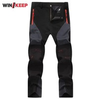 High Quality Women Hiking Pants Spring Autumn Stretch Softshell Mountain Climbing Full Length Trousers Swag Female