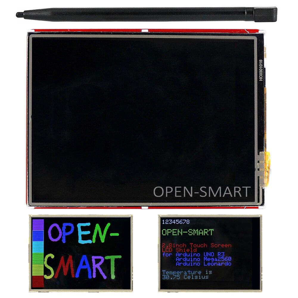2.8 inch TFT HX8347G Touch LCD Screen Display Shield On Board Temperature sensor +Touch Pen for Arduino UNO R3/Mega2560/Leonardo