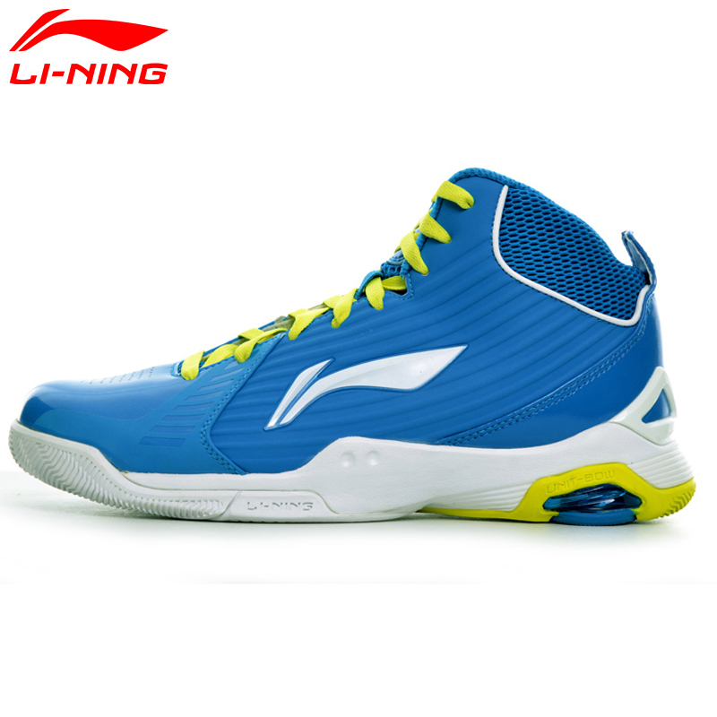 Li-Ning Men's Basketball Shoes CBA Light Sneakers Breathable TPU Cushion LiNing Sports Shoes ABAH045 XYL107 original li ning men professional basketball shoes