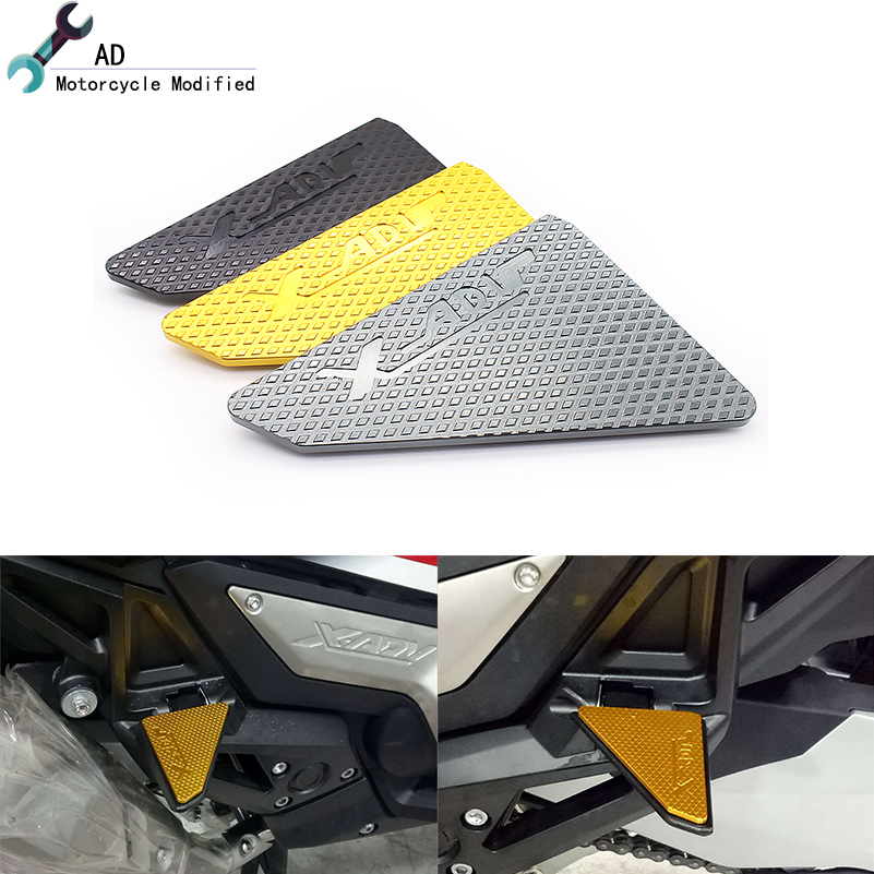 For Honda Xadv 750 Foot Pedal Pads Board Footboard Scooter Footrests Stand Support Plate Motorcycle Accessories Parts X ADV