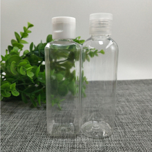 100ml Mini transparent PET Clear Empty Travel Lotion Liquid Shampoo Makeup Container travel accessories New Sale