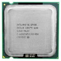 Intel Core 2 Quad Q9400 Cpu Processore (2.66 Ghz/6 M/1333 Ghz) socket Lga 775 Cpu Desktop di Trasporto Libero Della Scheda Madre Cpu Combo