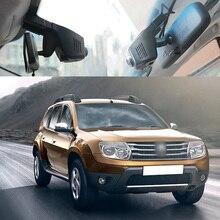 BigBigRoad For Renault duster symbol Koleos kadjar Clio lodgy Car Wifi DVR Video Recorder FHD 1080P Dash Cam