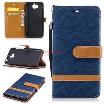 Flip Case for Huawei Y5 2017 MYA-L22 MYA-L23 Leather Cases Cover