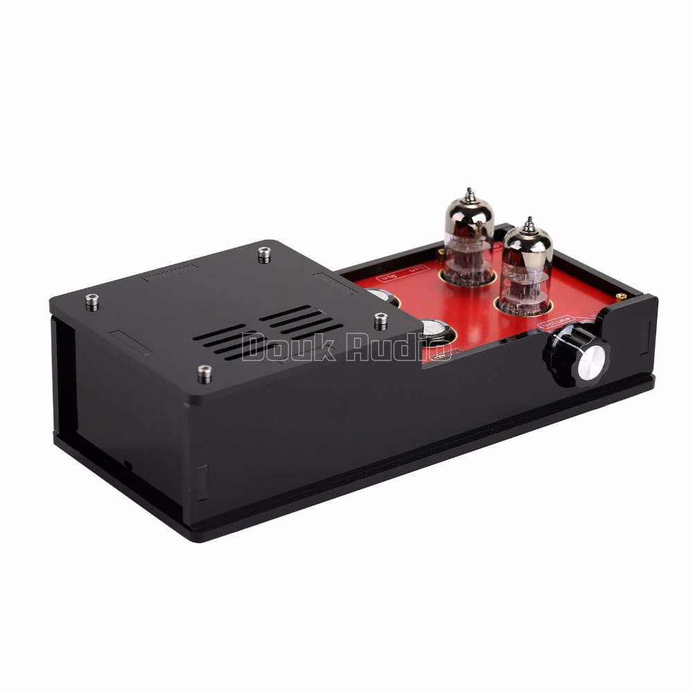 Music Hall New 6H3N Vacuum Tube Preamplifier HiFi Buffer Pre-Amp Matisse Circuit 2016 new matisse amp dc12v 2a bile preamp tube preamp buffer 6n3 5670 tube pre amp hifi audio tube preamplifier power supply