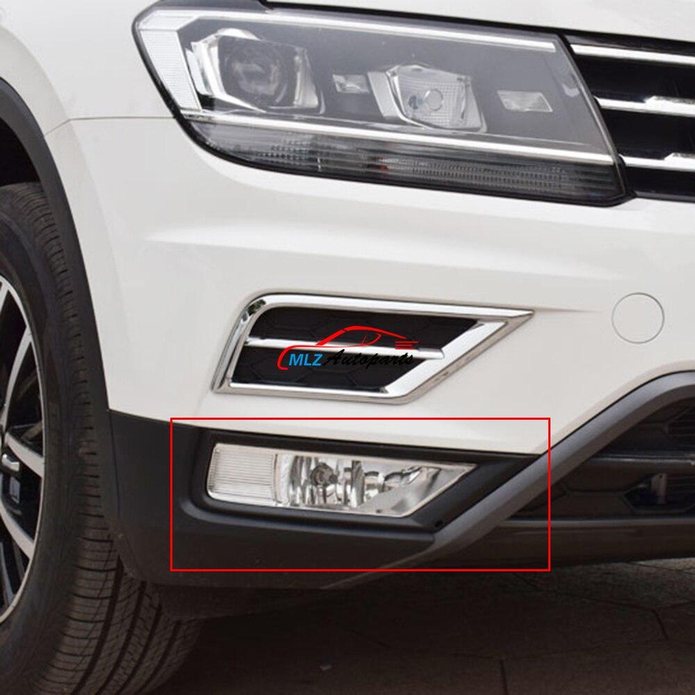 Prix pour Avant de la voiture Jour Running Light Cadre Avant Tête Avertissement Tour Signal Lampe DRL Couverture Garniture 2 PCS Pour Volkswagen VW Tiguan 2017