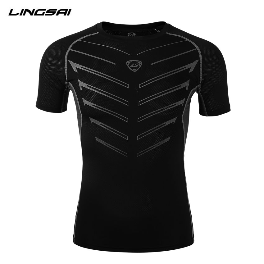 Brand Clothing Compression T Shirt New 2016 Bodybuilding