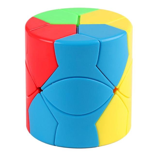 Surwish MF8845 Mofang Jiaoshi Redi Cylinder Type Magic Cube Puzzle Cube Intelligent Toys - Colorful