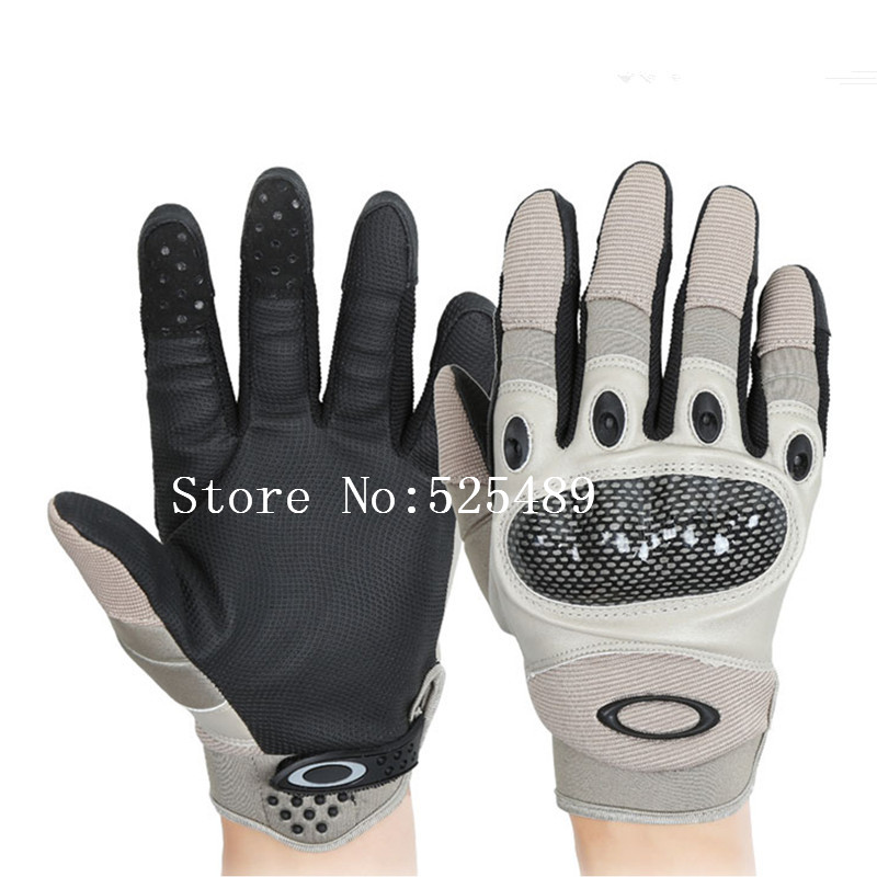 New Carbon Fiber Tactical Gloves Outdoor Motorcycle Tortoise Shell Touch Screen Gloves Motociclismo guantes moto luva motoqueiro