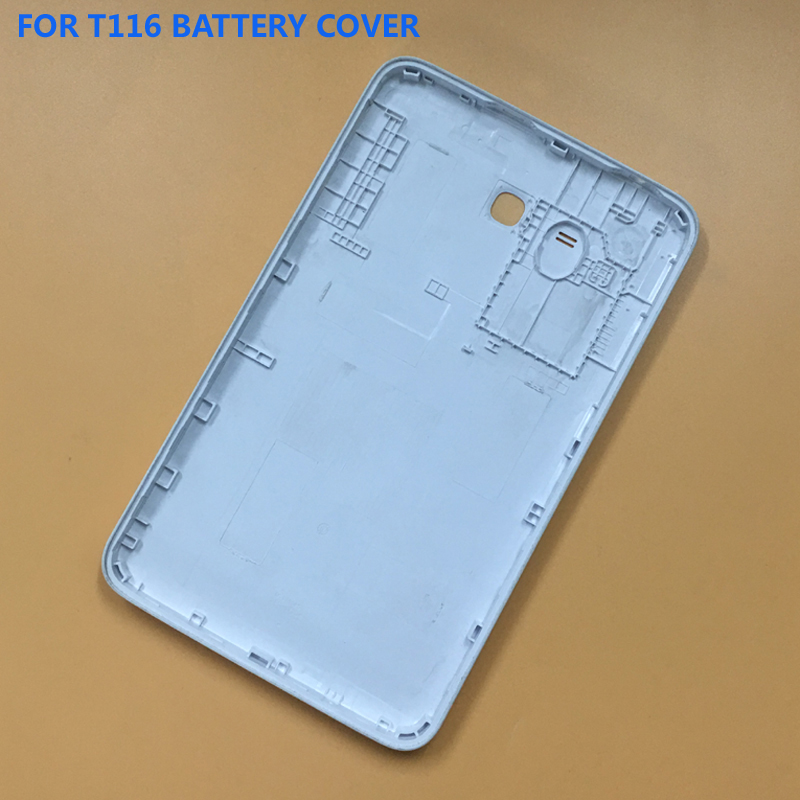 For Samsung Galaxy SM-T116 T116 T110 T111 T113 Back Battery Housing Cover Case Battery Door Cover Rear Lid
