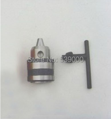 Tapered Tip 0.6-6mm Capacity B10 Mount Key Type Drill Chuck Free shipping 1362