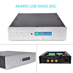 Nobsound podwójny AK4495 USB DAC dekoder dźwięku DSD XMOS XU208 konwerter sygnału cyfrowego na analogowy|Wzmacniacz|Elektronika użytkowa -