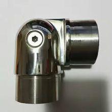 Freeshipping настроить литья муфта для 50.8 мм полюс 304 # нержавеющей стали