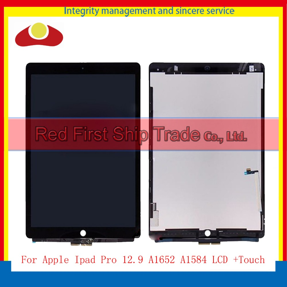 High Quality 12.9 For Apple Ipad Pro 12.9 A1652 A1584 Full Lcd Display With Touch Screen Digitizer Panel Assembly Complete warranty 1440 x 2880 lcd for lg g6 lcd display touch screen digitizer complete full lcd assembly replacement with tools as gift