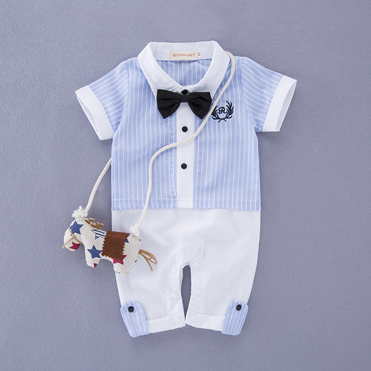 bbf8cb938 Baby Page Boy Christening Formal Wedding Tuxedo sky Blue Suit in ...