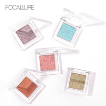Focallure Eye shadow Glitter Shimmer Single Eyeshadow Makeup Hot Fashion and Soft make up for all kind of skin