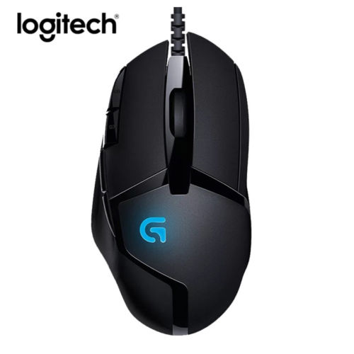 Logitech G402 Wired Gaming Mouse Gamer 4000DPI Backlit Game Original Mause original logitech g102 gaming wired mouse optical wired game mouse support desktop laptop support windows 10 8 7