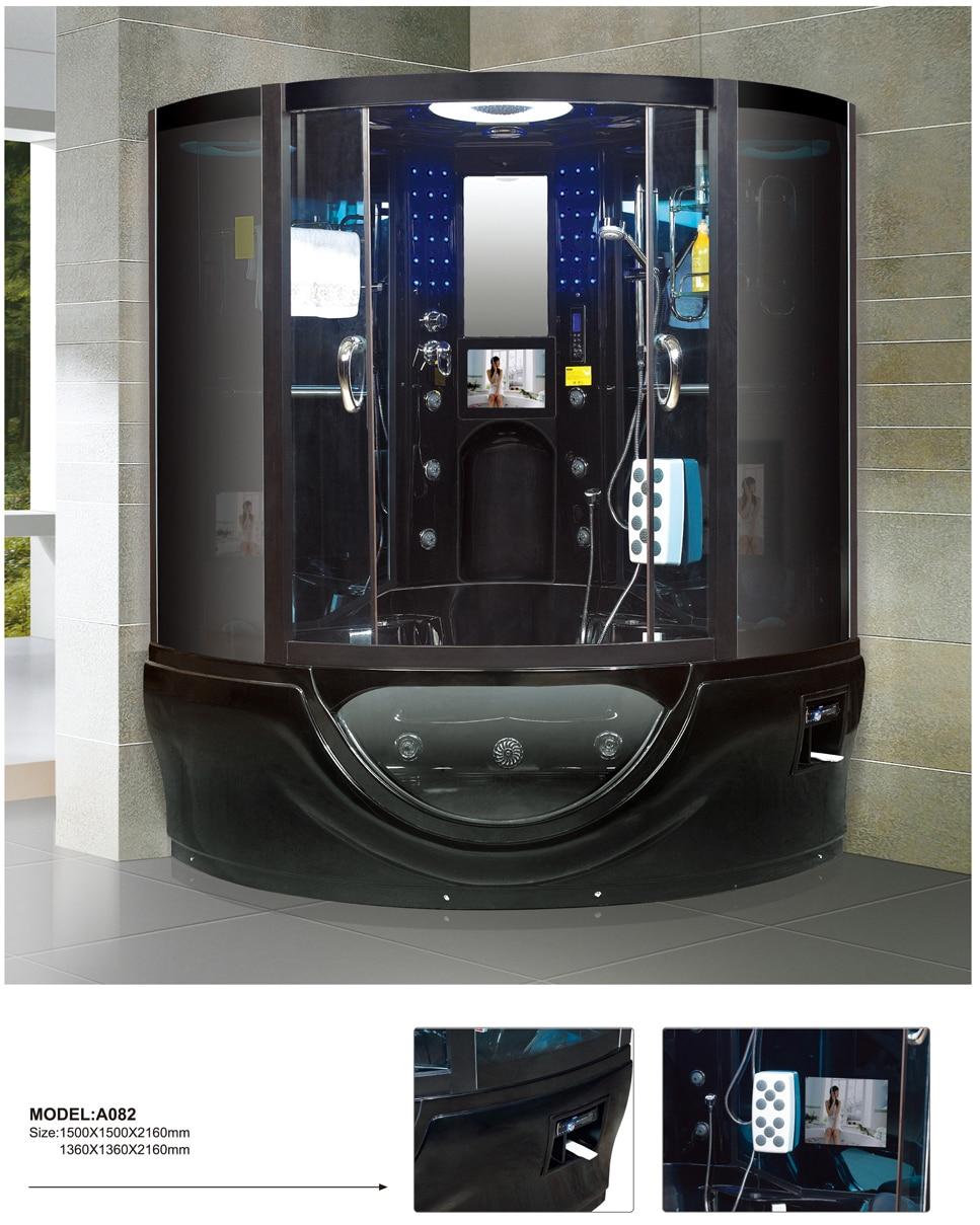 luxury modern steam shower cabin with tempered glass on Aliexpress ...