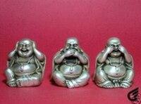 Будда Тибет серебряные статуя от 3rd amende Бесплатная доставка