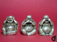 Phật Tibet silver tượng từ the 3rd amende Miễn Phí vận chuyển