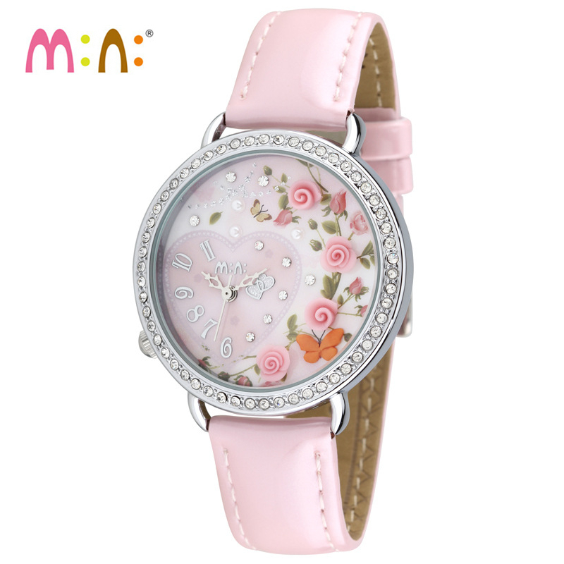 Luxury Brand Women Watches 2017 Fashion Waterproof 3D Rose Bracelet Ladies Quartz Wrist Watch Clock Woman saat Relogio Feminino ss11 5 ss25 siam color pointback rhinestones glass material beads used for jewelry nail art decoration