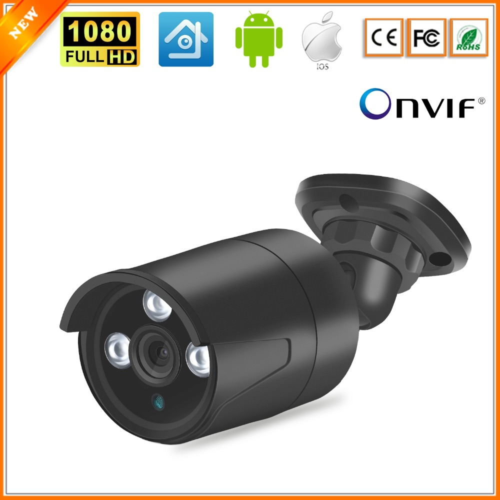 BESDER 1080p Outdoor IP Camera IP66 Metal Case Waterproof Home Security Surveillance Network Camera CCTV RTSP P2P XMEye Onvif