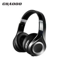 Wireless Bluetooth Headphones Hifi Sport Headset With Bass 3 5mm Collapsible Earphone Mic NFC Earphone Stand
