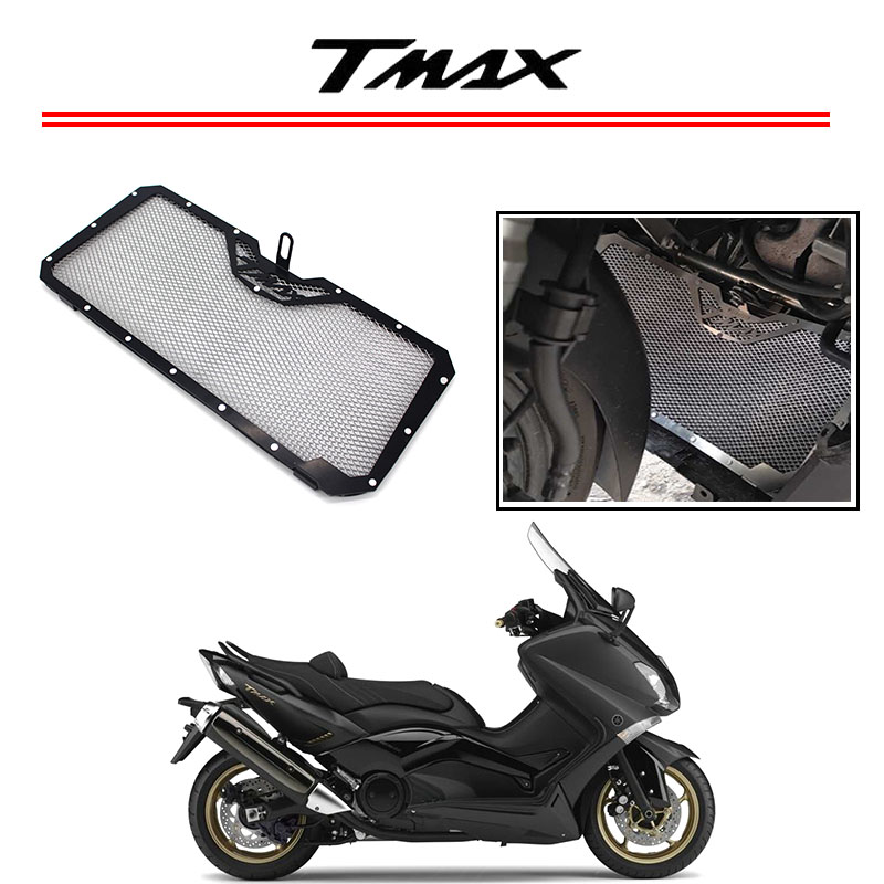 Motorcycle Aluminum Radiator Grill Guard Cover Protector Radiator protection For Yamaha TMAX T-MAX 530 2012-2015 arashi motorcycle radiator grille protective cover grill guard protector for 2008 2009 2010 2011 honda cbr1000rr cbr 1000 rr