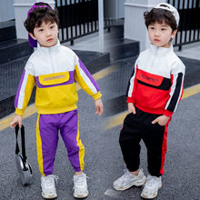 Baby Boys Clothing Set Spring Autumn Infant Kids Clothes Set 2 3 4 5 6 7 Years Child Boys Sports Suit Fashion Children Clothing