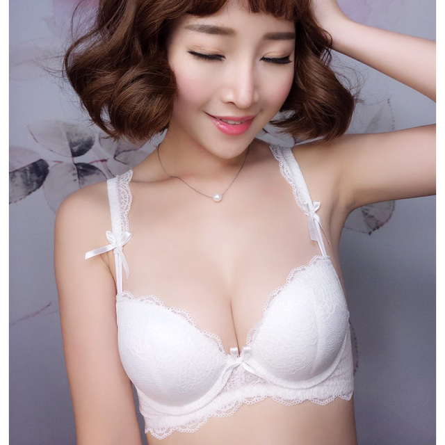 2017 Limited Solid Cotton Modal Polyester Lace Bra New Arrival Beauty Sexy Lingerie Set Push Up Lace So Bra Underwear For Women