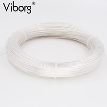 Free shipping 10meter/lots Silver Plated 6N OCC Signal Wire Cable 0.12square for DIY Headphone cable(China)