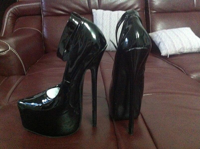 wonderheel new patent high heel 20cm high