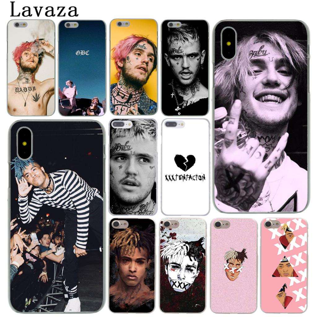 Lavaza XxxTentacion <font><b>Lil</b></font> <font><b>Peep</b></font> <font><b>Lil</b></font> Bo <font><b>Peep</b></font> Hard Phone <font><b>Case</b></font> for <font><b>iPhone</b></font> XR X XS 11 Pro Max 10 7 <font><b>8</b></font> 6 6S 5 5S SE 4S 4 Cover image