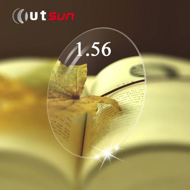 OUTSUN 1.56 Супер Привет-Индекс Ультра Тонкий Асферические Очковые линзы Линзы Для Глаз С Близорукость 0.00-4.00 Градусов