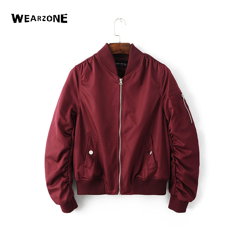 Aliexpress.com : Buy High Quality Casual cotton bomber ...