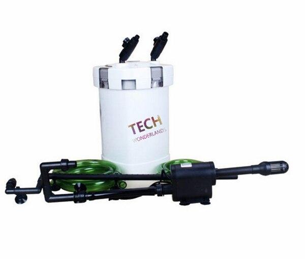 SUNSUN HW504A HW-504B filtre à 4 étages pour AQUARIUM pour eau fraîche/salée avec lampe UV