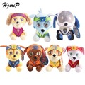 New 20cm Dog Plush toyss Russian Anime Doll Action Figures Patrol Puppy Toy Animals Doll Stuffed Toys Birthday Gift