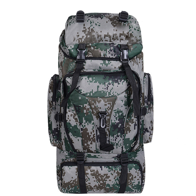 6533f1f6b 70L Army Men Women Outdoor Military Tactical Backpack Camping Hiking Rifle Trekking  Sport Molle Travel Rucksacks Climbing Bag