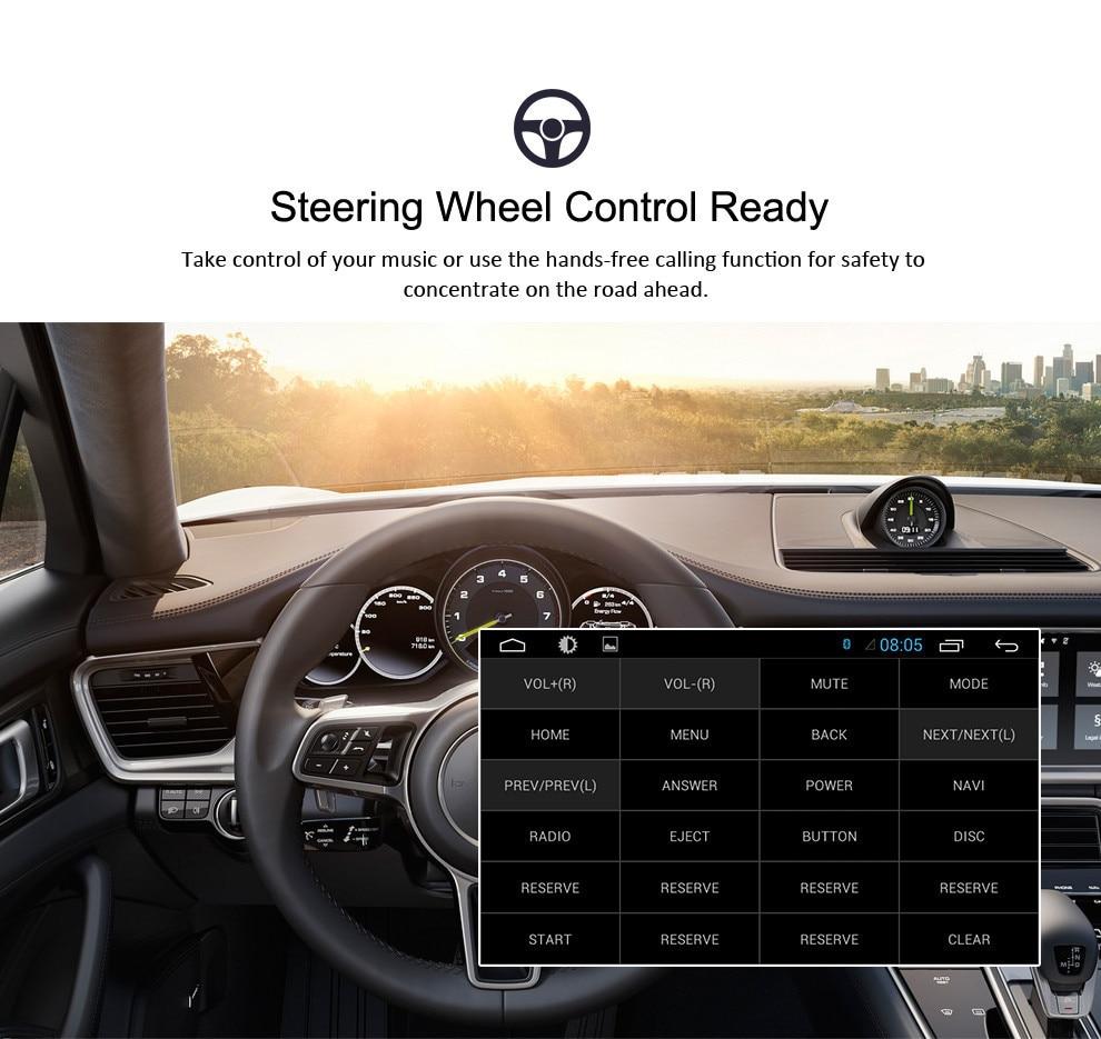 Image 5 - 7 дюймов Android 9,0 автомобиль DVD Радио стерео для Audi A4 S4 2002 2003 2004 2005 2006 2007 2008 gps навигации видеоплеер с Wi Fi головное устройство-in Мультимедиаплеер для авто from Автомобили и мотоциклы