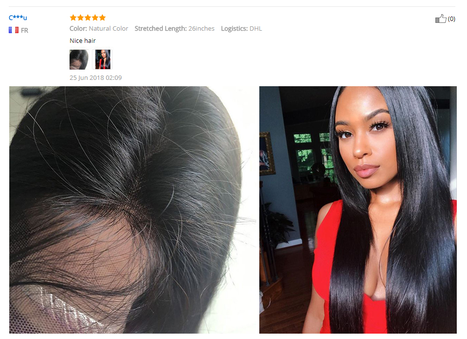 RXY Full Lace Front Human Hair Wigs For Black Women Pre Plucked Full Lace Human Hair Wigs With Baby Hair Peruvian Remy Hair Wig (3)