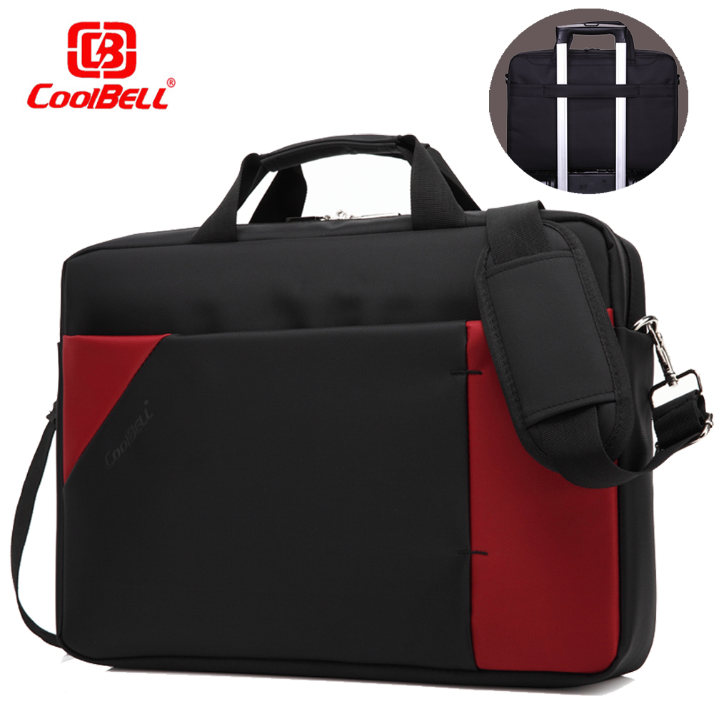 Fashion Mix-color 15 15.6 Inch Laptop Bag Business Notebook Shoulder Strap Computer Messenger Handbag Men Women for Macbook