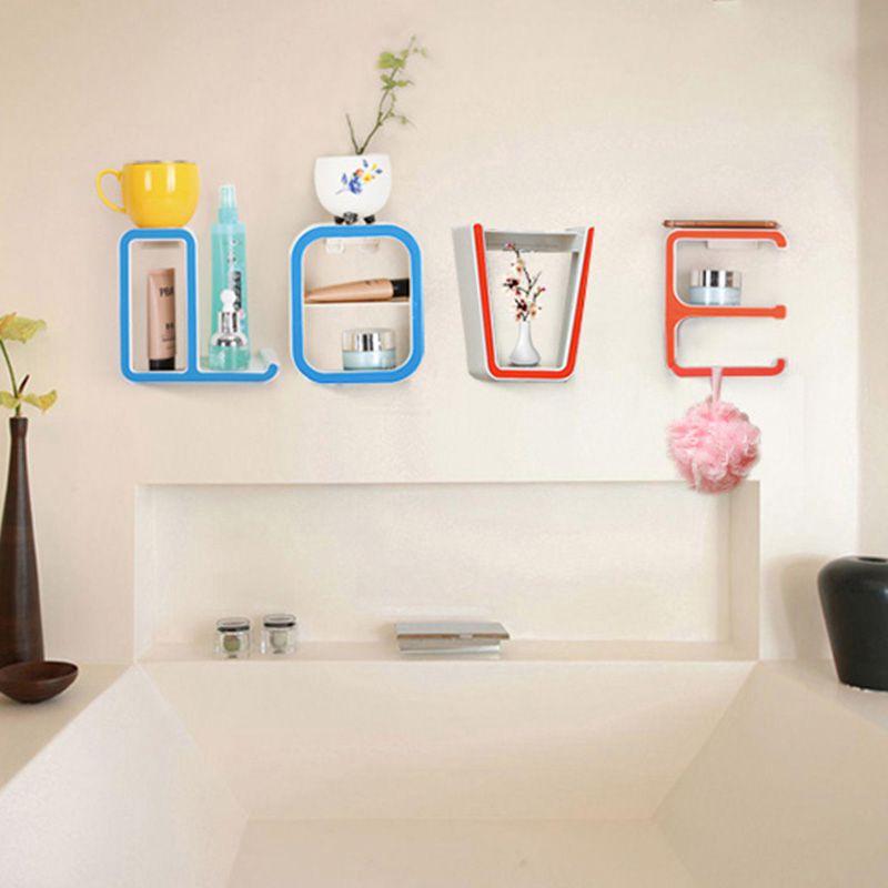 Online Shop Creative letters LOVE magic stick racks Seamless ...