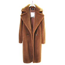 2019 Winter Women Thick warm Teddy Coat Female High Street Oversized Teddy Jackets And Coats Ladies Lamb Wool Coat Faux Fur Coat