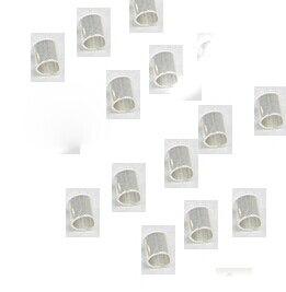 Оптовая свободный корабль 2 мм 500 шт. Rondelle Обжимной Конец Поиск Diy Шариков прокладки * бисера caps переключить застежка брошь выводы