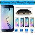 3D Изогнутые Поверхности Прозрачного Стекла для Samsung Galaxy S6 Edge плюс Протектор Экрана Полный Охват Стекло Пленка для Galaxy S6 край