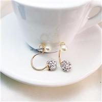 Womens-Earrings-2015-Stud-Earrings-Set-Double-Sides-Pearl-Ball-Earrings-For-Women-Fashion-Cute-Gold