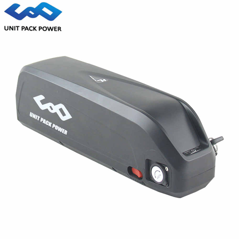 Down Tube 48V 13Ah Electric Bike shark battery 750W 1000w Lithium battery with 30A BMS + 54.6V 2A charger