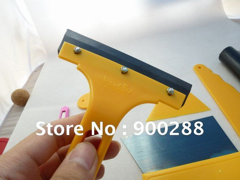 Auto Car Body wrapping Sticker Installation Auxiliary tools Scraper set